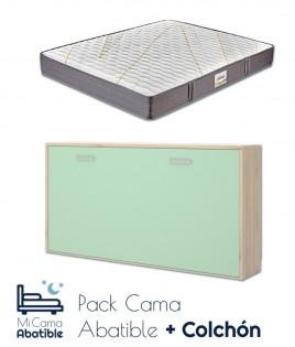 Cama Abatible Horizontal disponible en diferentes colores Ref CAY27000