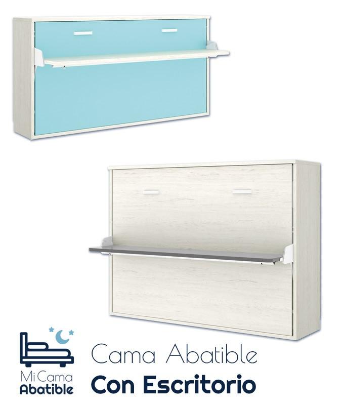Cama Abatible Horizontal con escritorio Ref CAY30000