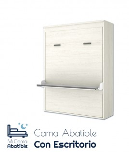 Cama Abatible Vertical matrimonial con escritorio Ref CAY32000