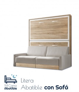 Litera Abatible Horizontal con Sofá Ref CAN54000