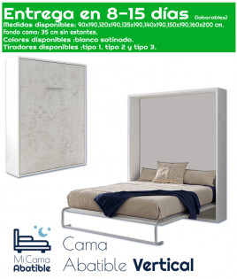 Cama Abatible Vertical Ref CAN13000