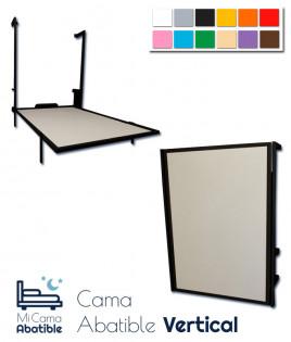 Cama Abatible vertical metálica disponible en diferentes colores Ref CAF12000