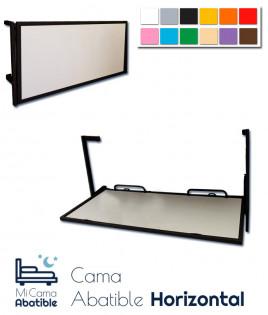 Cama Abatible Horizontal metálica disponible en diferentes colores Ref CAF14000