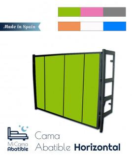 Cama Abatible horizontal metálica disponible en diferentes colores Ref CACM11000